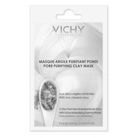 VICHY Čisticí jílová pleťová maska 2x6ml