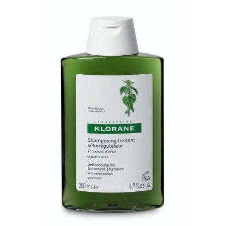 KLORANE Šampon z kopřivy na mastné vlasy 200 ml