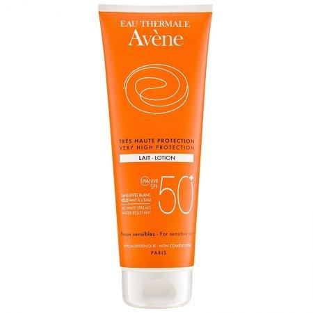 Avene Sun Sensitive opalovací mléko SPF 50  250 ml