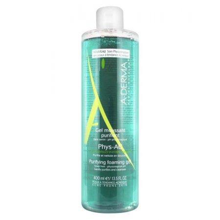 A-DERMA Phys-Ac Čistící pěnivý gel 400 ml