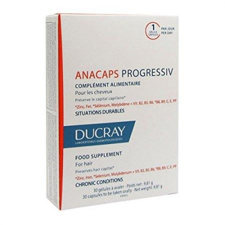 Ducray Anacaps Progressiv 3x30 tobolek