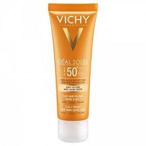 VICHY IDÉAL SOLEIL Krém proti tmavým skvrnám SPF 50+ 50 ml
