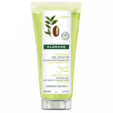 Klorane Sprchový gel s bio máslem cupuaçu s extraktem z yuzu 200 ml