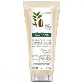 Klorane Sprchový gel s bio máslem cupuaçu s květy cupuaçu 200 ml