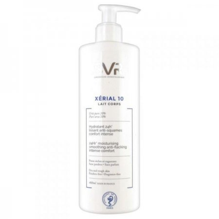SVR Xerial 10 lait corps 400 ml - tělové mléko s 10 % obsahem urey