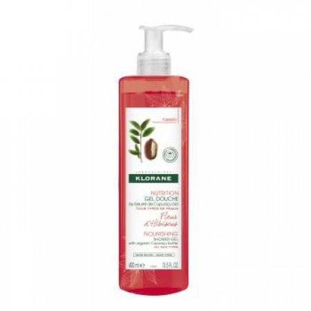 KLORANE Sprchový gel bio máslem cupuaçu s květy ibišku 400 ml