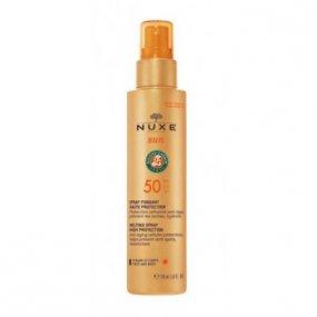 NUXE Sun Melting Spray dámský opalovací sprej s vysokou uv ochranou SPF50 150 ml