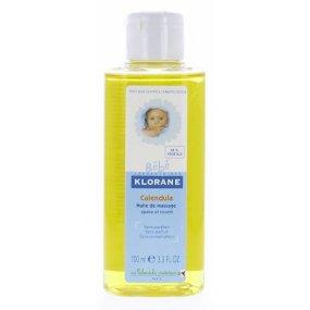 KLORANE BEBE Huile massage - Masážní olej s měsíčkem100 ml