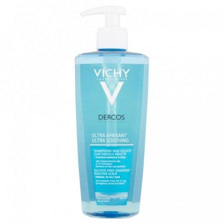 Vichy Dercos Ultrazklidňující šampon 390ml - normální až mastné vlasy