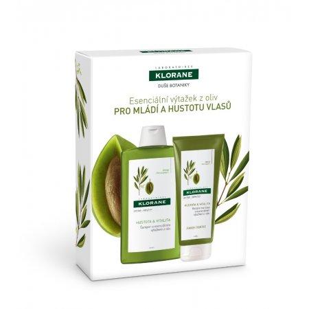 KLORANE PROMO DUŠE BOTANIKY - Esenciální výtažek z oliv PRO MLÁDÍ A HUSTOTU VLASŮ