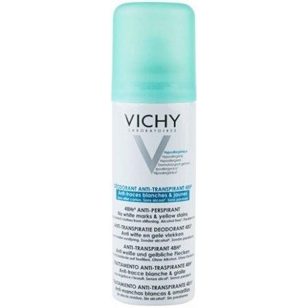 Vichy deo sprej anti-transpirant 48h proti bílým a žlutým skvrnám 150 ml