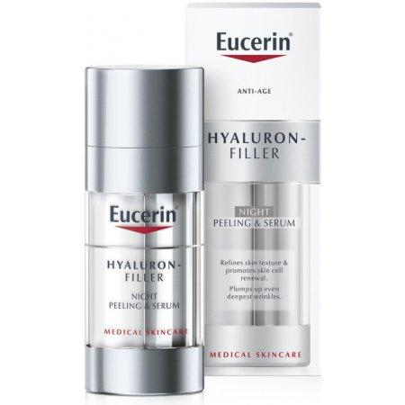 Eucerin Hyaluron-Filler Noční obnovující a vyplňující sérum 30 ml