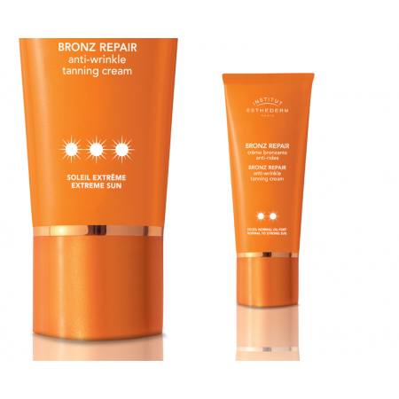 Esthederm Bronz repair ✹✹ krém pro normální nebo silné slunce na obličej