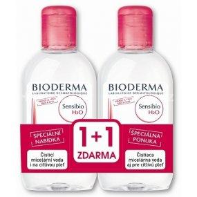 BIODERMA Sensibio H2O micelární voda 500 ml 1+1 zdarma