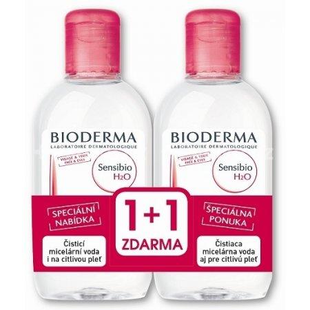 BIODERMA Sensibio H2O micelární voda 500ml 1+1