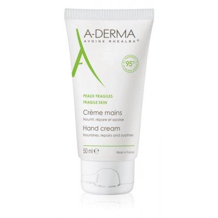 A-DERMA Creme mains 50ml výživný a regenerační krém na ruce
