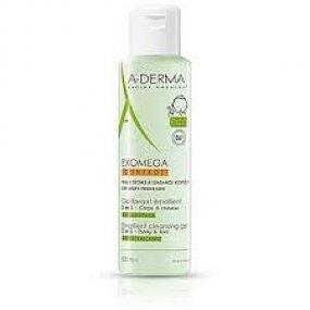 A-DERMA EXOMEGA CONTROL Zvláčňující mycí gel 2v1 200 ml
