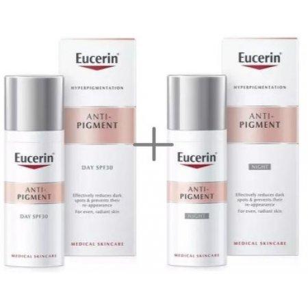 Eucerin Promo ANTI-PIGMENT Denní krém s SPF30 50 ml+noční krém 50 ml