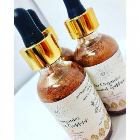 """AO Organics Hawaii """"Bronzed Goddess"""" Pečující třpytivý olej 60 ml"""