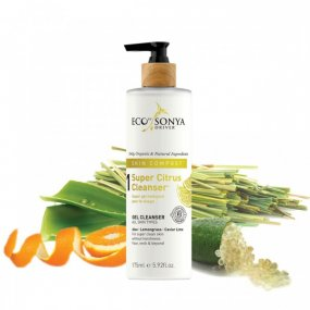 Eco by Sonya čisticí pleťový gel | Super Citrus Cleanser 245 ml