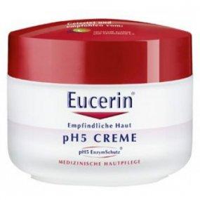 Eucerin pH5 krém na obličej a tělo 75 ml