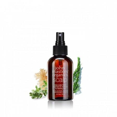 John Masters organics Deep Scalp - Vyživující péče pro zdravý růst vlasů a objem 125 ml