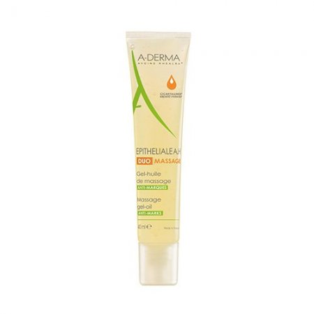 A-DERMA EPITHELIALE A.H DUO MASAGE gel-huile 40 ml