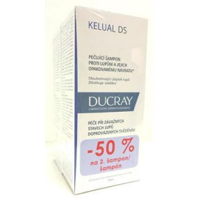 DUCRAY Kelual DS šampon 100 ml DUO 1+1 ZDARMA