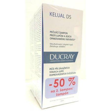 DUCRAY Kelual DS šampon 100 ml DUO 1+1 ZDARMA