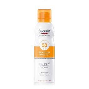 Eucerin Sun Transparentní sprej na opalování Dry Touch SPF 50+ 200ml