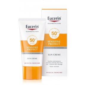 Eucerin Vysoce ochranný krém na obličej Sensitive Protect SPF 50+ 50ml