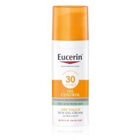 Eucerin Ochranný krémový gel na opalování na obličej Oil Control SPF 30 50ml