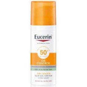 Eucerin SUN Oil Control SPF50+ ochranný krémový gel na obličej 50 ml