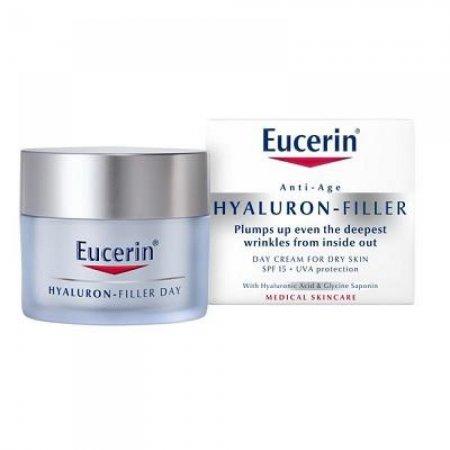 Eucerin Hyaluron-Filler Denní krém SPF15 pro suchou pleť 50 ml