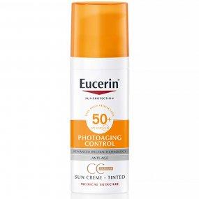 Eucerin CC krém na obličej Photoaging Control SPF 50+ světlý 50 ml