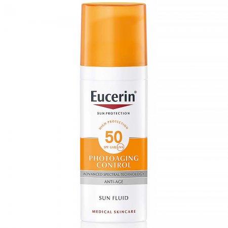 Eucerin Sun ochranný fluid proti vráskám SPF30 50 ml