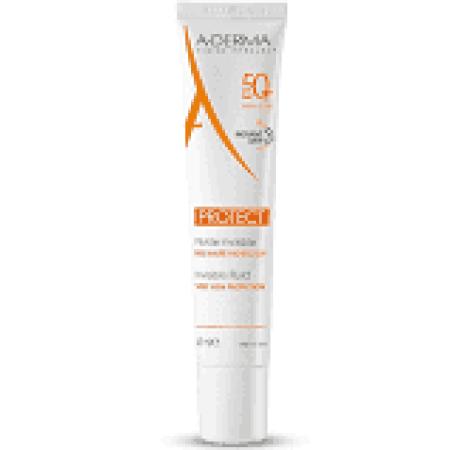 A-derma Protect Transparentní fluid SPF50+ 40 ml