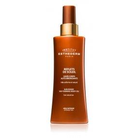 Institut Esthederm Sun Sheen Sun Kissed Self-Tanning Body Gel samoopalovací krém na tělo odstín Light Tan 150 ml