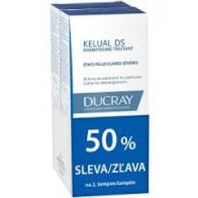 Ducray Kelual DS šampon proti lupům 2x100 ml
