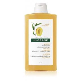 KLORANE Šampon s mangovým máslem 400 ml- suché a poškozené vlasy