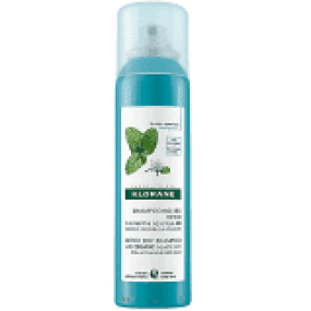 KLORANE Suchý šampon máta vodní-detox 150 ml