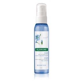 KLORANE Bezoplachový sprej s lněnými vlákny 125 ml - Objem vlasů