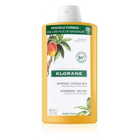 Klorane Mango intenzivně vyživující šampon pro suché vlasy 400 ml