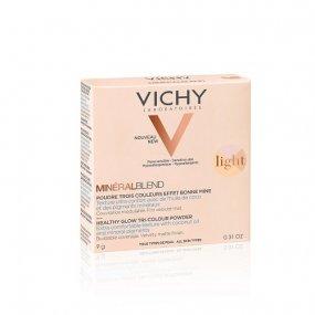 VICHY MINÉRALBLEND LIGHT Tříbarevný rozjasňující pudr 9 g