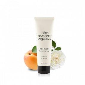 John Masters organics Maska na vlasy s růží a meruňkou 118 ml