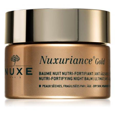 Nuxe Nuxuriance Gold vyživující noční balzám pro posílení pleti 50 ml