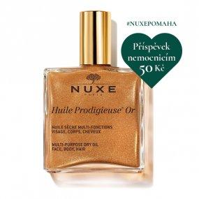 Nuxe Multifunkční zázračný suchý olej ve spreji se třpytkami 100 ml