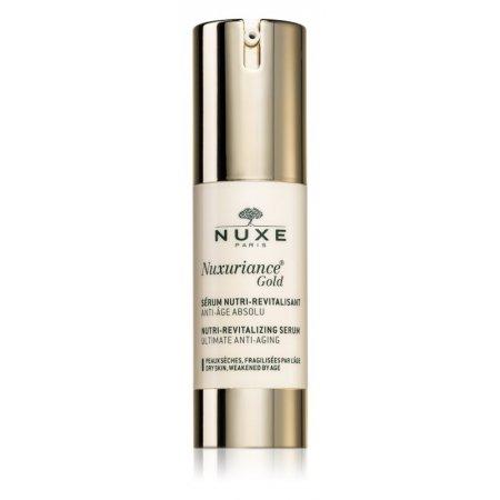 Nuxe Nuxuriance Gold revitalizační pleťové sérum s vyživujícím účinkem 30 ml