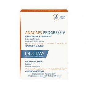 DUCRAY Anacaps Progressiv-chronic.vyp.vlasů cps.30