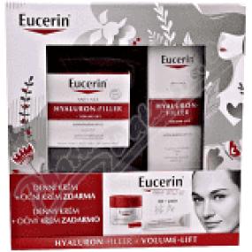 Eucerin HYALURON-FILLER + VOLUME-LIFT denní krém 50ml + oční krém 15ml SUCHÁ PLEŤ